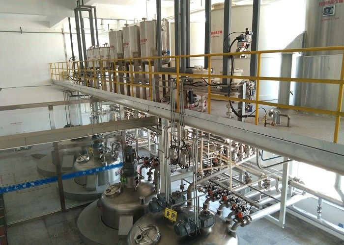 High Speed Liquid Detergent Manufacturing Plant , Liquid Soap Making Machine