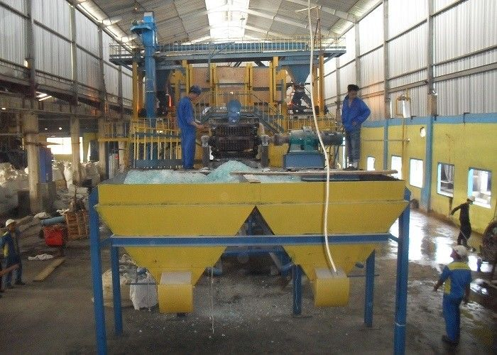 Custom Sodium Silicate Production Line And Melting Machine Dry Process