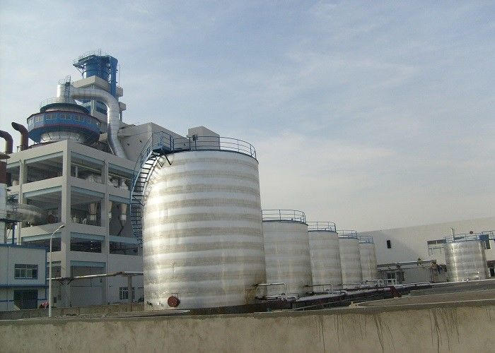 High Spray Tower Washing Powder Production Line Eco - Friendly Feature