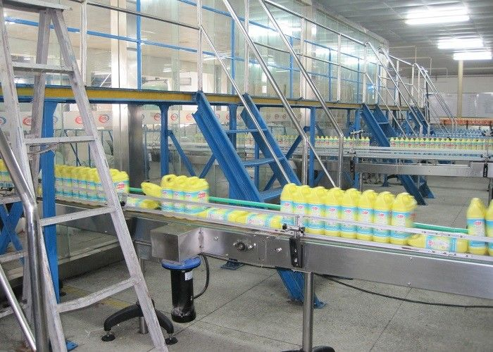 Automatic Liquid Detergent Production Line , Liquid Detergent Mixer