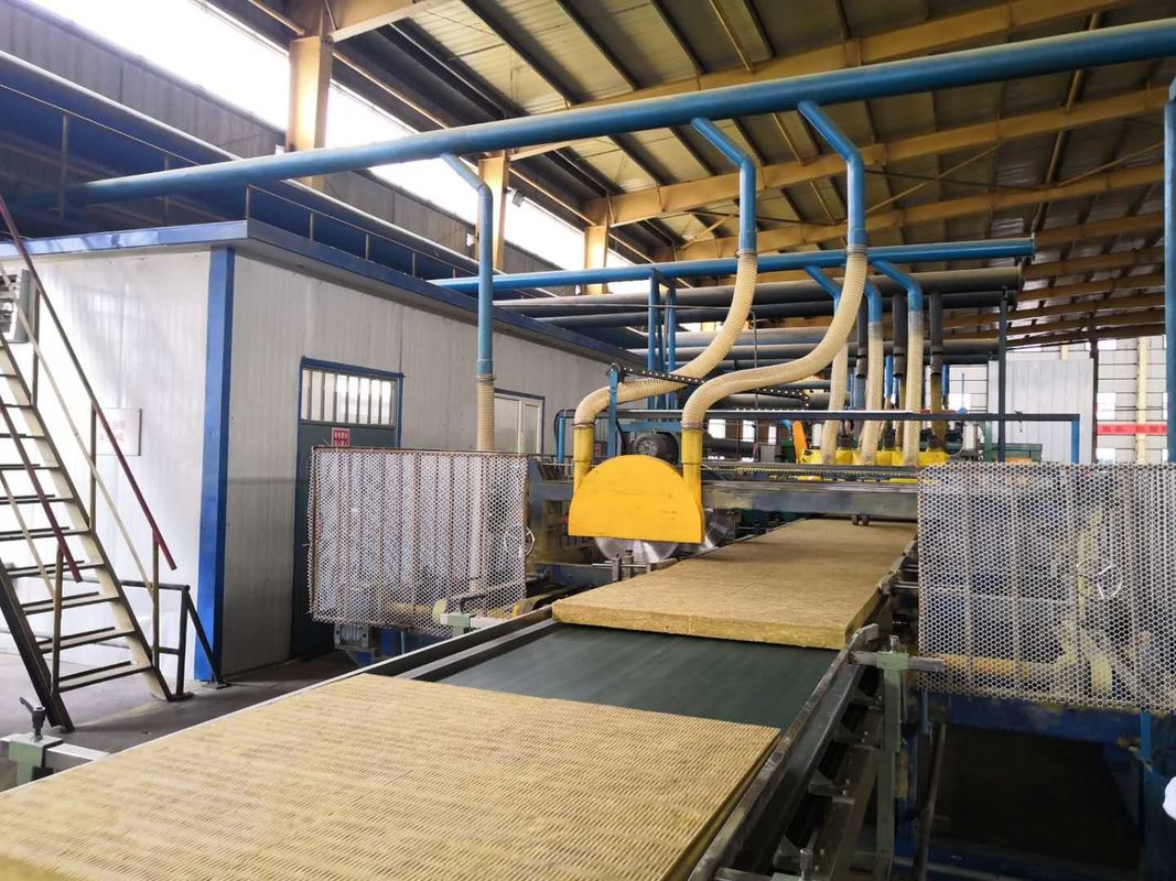 Heat Preservation Material Rock Wool Production Line